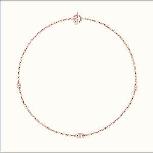 Hermès New Farandole Necklace Rose gold standard
